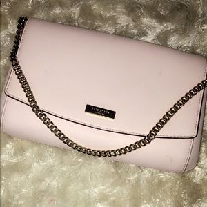 Kate spade pale pink crossbody and shoulder purse